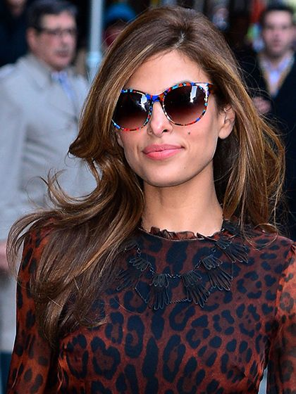 If you have an oval face shape, consider yourself lucky. And not just because you share something in common with Eva Mendes | http://aol.it/1np3XWP