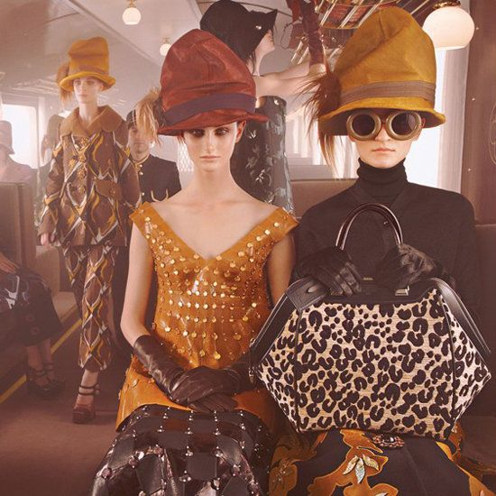 Louis Vuitton is one of my favorite fall '12 ads, love the hats.