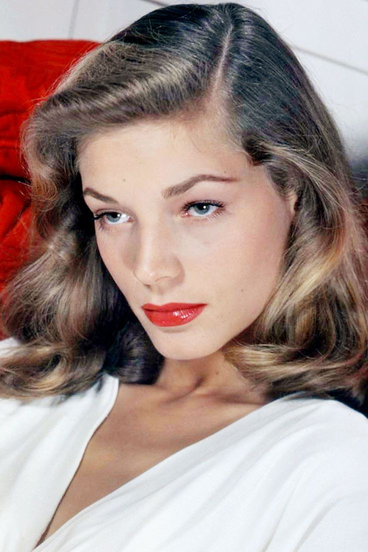 "Actress Lauren Bacall Dies At 89... We will miss her timeless beauty and elegance, and of course, ""the look""."