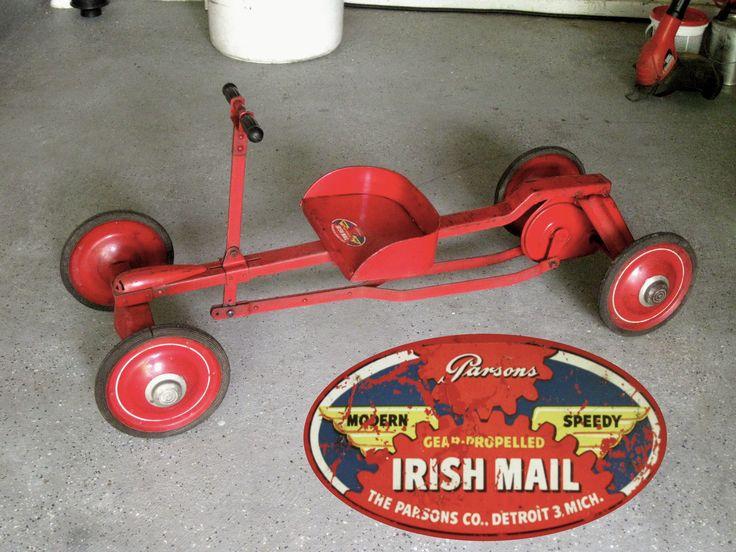 Parsons Modern Speedy Irish Mail Gear Propelled Pump Car ...