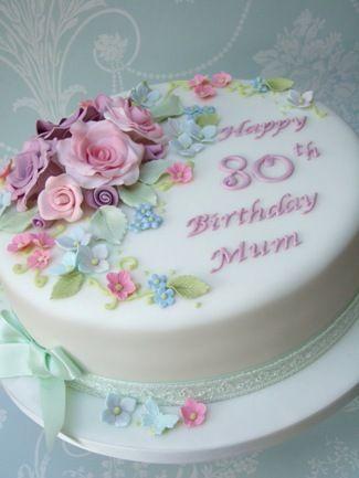 Bildergebnis für Pretty Birthday Cakes For Women