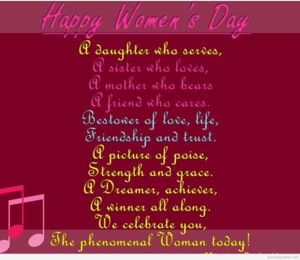 Happy Birthday Quotes For Mother In Hindi: International Women's Day Quotes Poems In Hindi Wallpaper