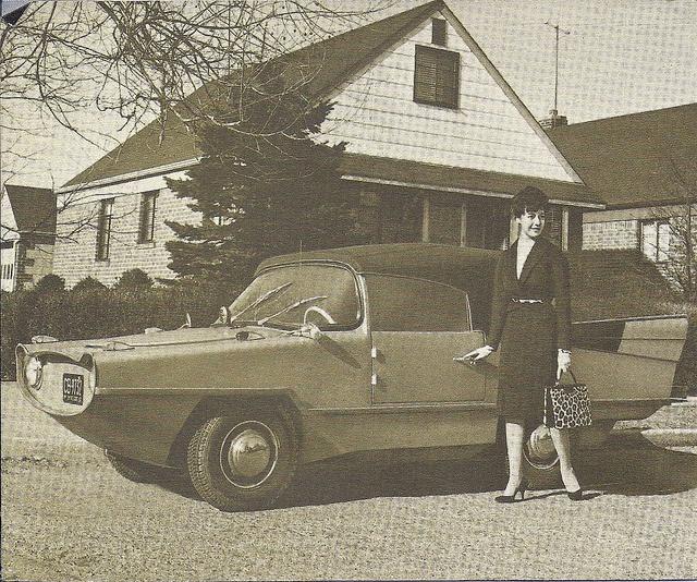 1960 Amphicar prototype