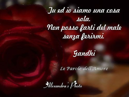 Le Parole Dell'Amore - Gandhi