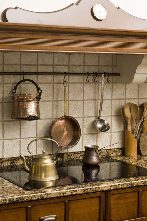 Kuchnie rustykalne - Dom