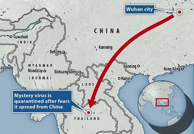 Image result for virus in china Map