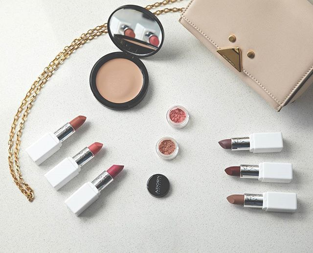 Get Make Up Ready this weekend with natural and organic cosmetics at The Organic Project Check out our wonderful makeup on our online store  #makeup #makeupflatlay #organiccosmetics #crueltyfree #theorganicproject #cosmetics #natural #lipstick #foundation #handbag #christmasmakeup #nudus #adorncosmetics