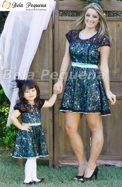 Vestidos Mãe e Filha de Renda