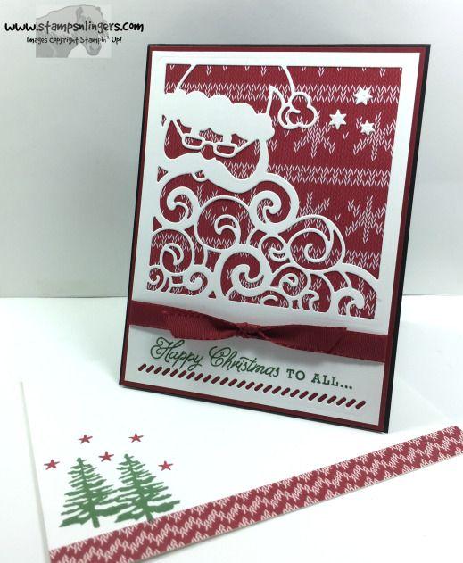 Greetings From Detailed Santa 6 - Stamps-N-Lingers
