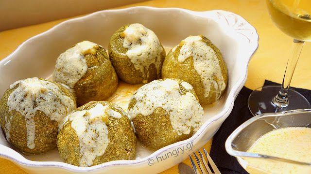 Kitchen Stori.es: Κολοκυθάκια Γεμιστά με Κιμά, Αυγολέμονο
