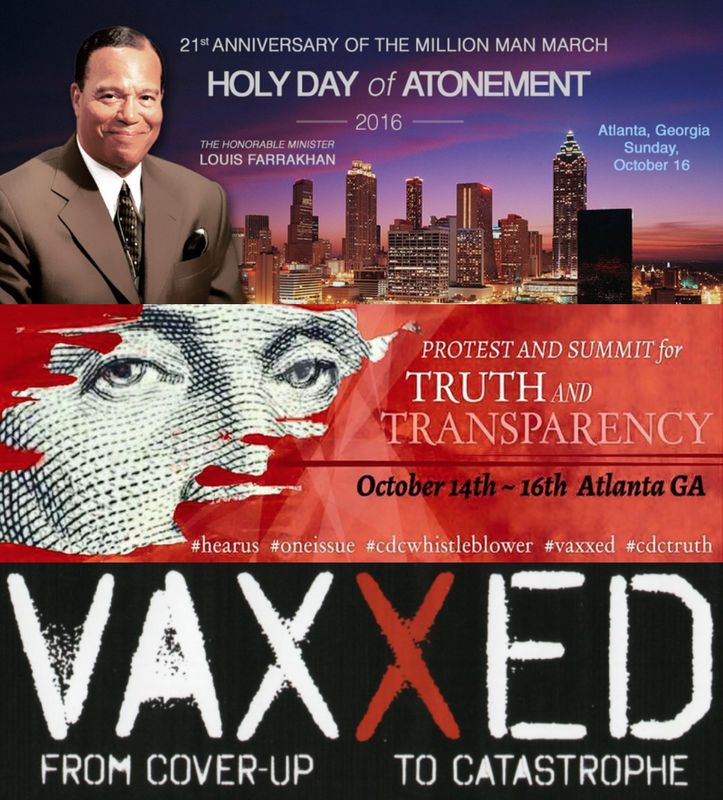 10/12/2016 - Thousands Descend Upon CDC Atlanta Headquarters Demanding End to Corruption