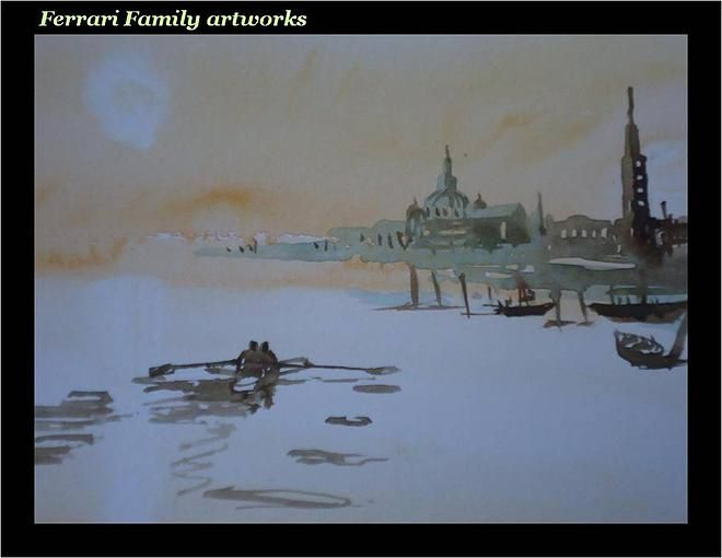 discover | The paintings of Ferrari Family artists are really unique artworks.
