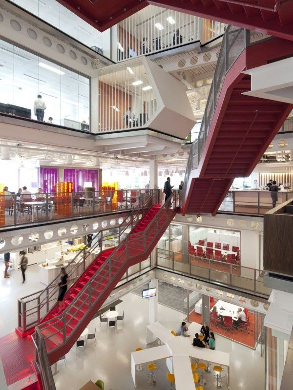 9 best office atrium images on pinterest offices for Space design group architects and interior designers