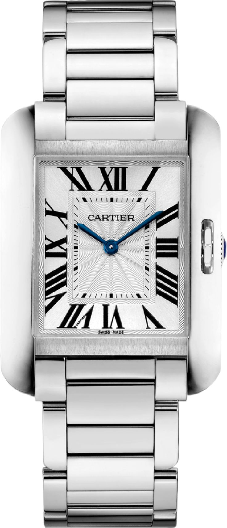 Cartier Tank Anglaise Women's Medium in Steel