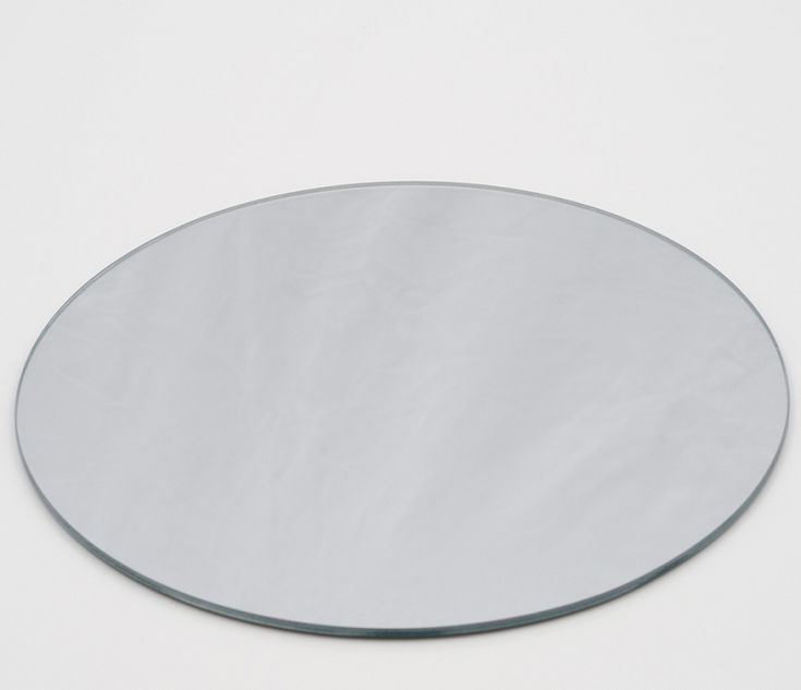 """12"""" Centerpiece Mirrors - Wholesale 12"""" Mirror Plates. Set of 12 for $32"""