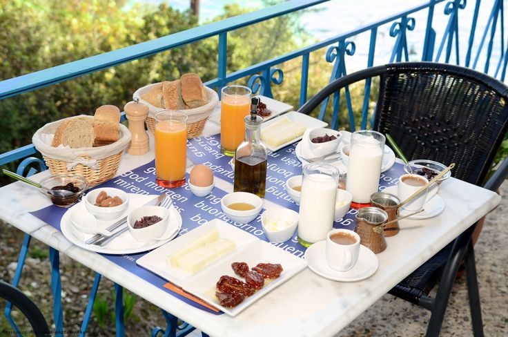 Another view of our awarded breakfast. Taste the tsakonian hospitality of our hotel in Tyros Peloponnese Greece.