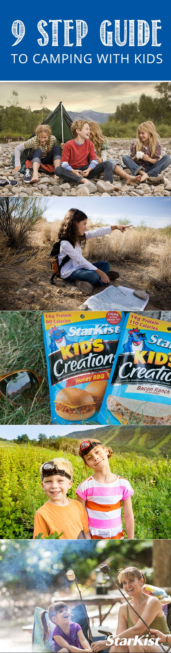 Camping with your children doesn't have to be a hassle! This list can help simplify your next camping trip!