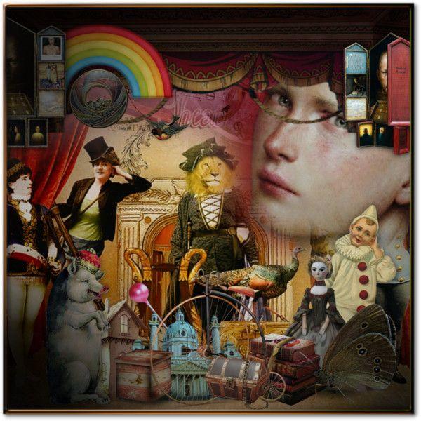 Case di bambole by fairy-world on Polyvore featuring arte