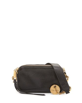 Recruit+Leather+Camera+Bag,+Black+by+Marc+Jacobs+at+Neiman+Marcus.