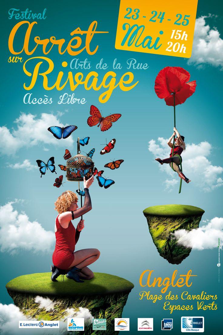 Découvrez le festival des Arts de Rue « Arrêt sur Rivage » qui animera #Anglet, du 23 au 25 mai 2015. Au programme : du #cirque, de la #musique, de la #danse, du #théâtre, beaucoup d'humour et des découvertes surprenantes ! #Belambra #Blog #Vacances