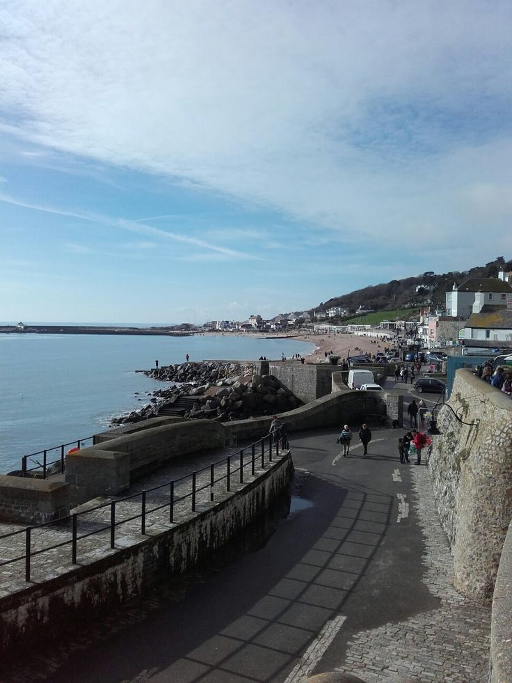 Lyme Regis on a beautiful early Spring day!
