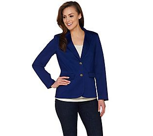 C. Wonder Blazer with Printed Lining and Signature Buttons