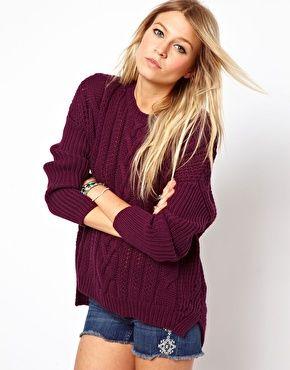 ASOS Aran Sweater #Outfit #Fashion #Clothing