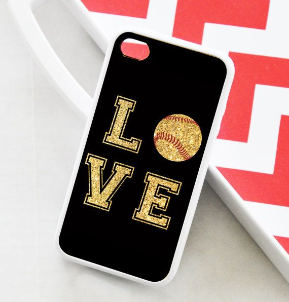 iPhone 4 Case  Love Softball iPhone Case  iPhone 5 by AModernStyle, $16.99