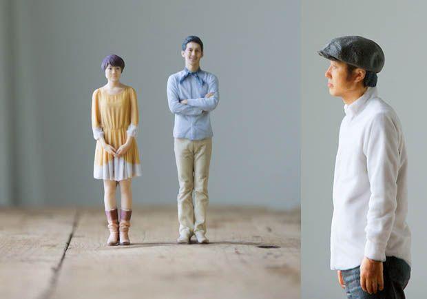 Omote 3D Creates Tiny 3D Sculptures Instead of 2D Photos