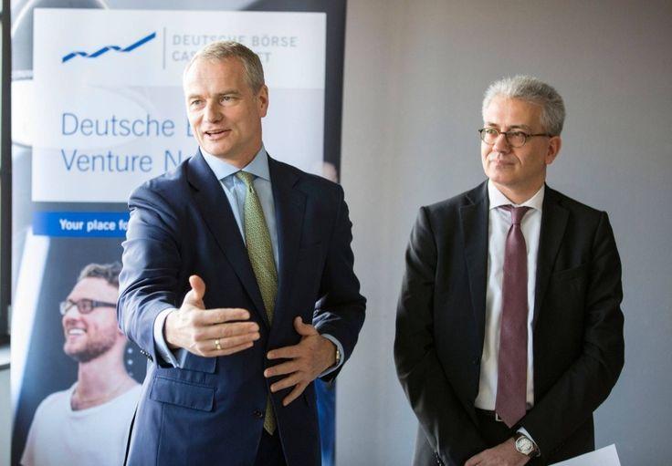 Die Deutsche Börse bietet jungen Start-ups Räume, IT und Kontakte. Eine Studie der Unternehmensberatung EY  sieht London allerdings momentan noch weit vor Deutschland.