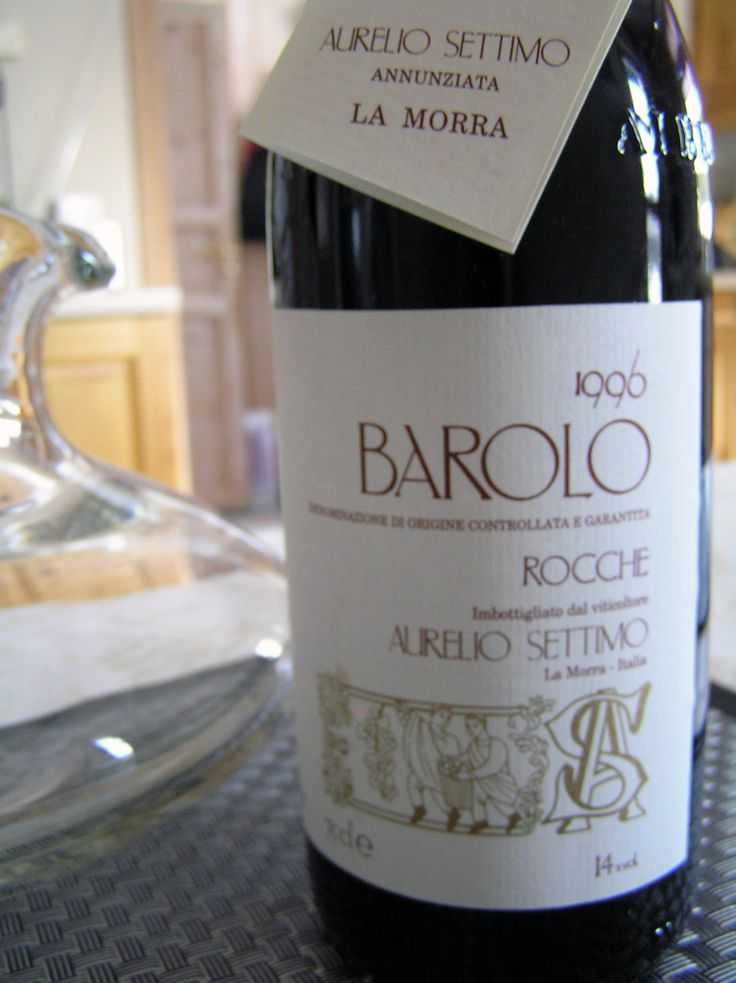 A taste for wine: 1996 Aurelio Settimo Barolo.