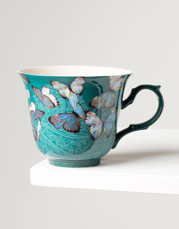 BUTTERFLY MUG mug