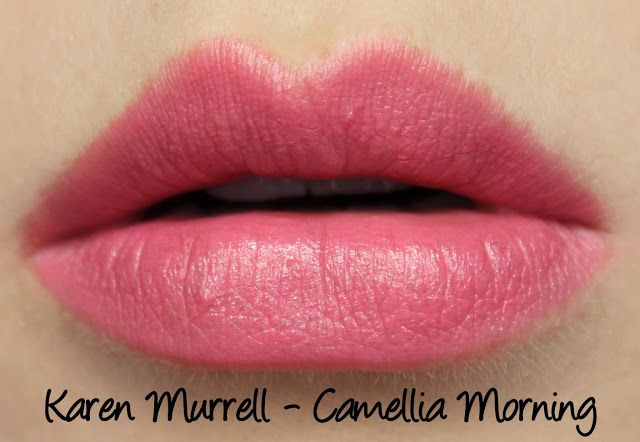 Karen Murrell Christmas Gift Set - Camellia Morning Swatches & Review