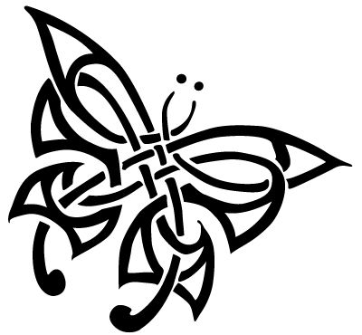 Celtic Butterfly Tattoo