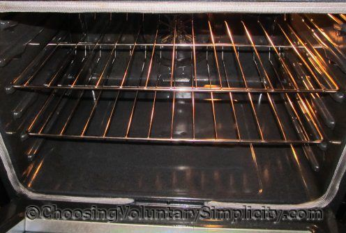 how to clean oven racks after self clean