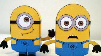 Papertoys Minions