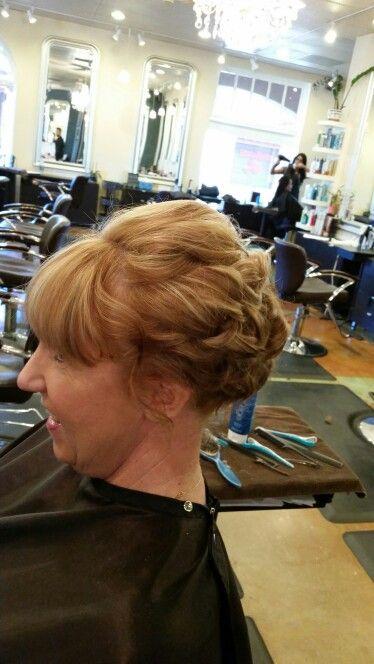 Bridal/prom hair ♡