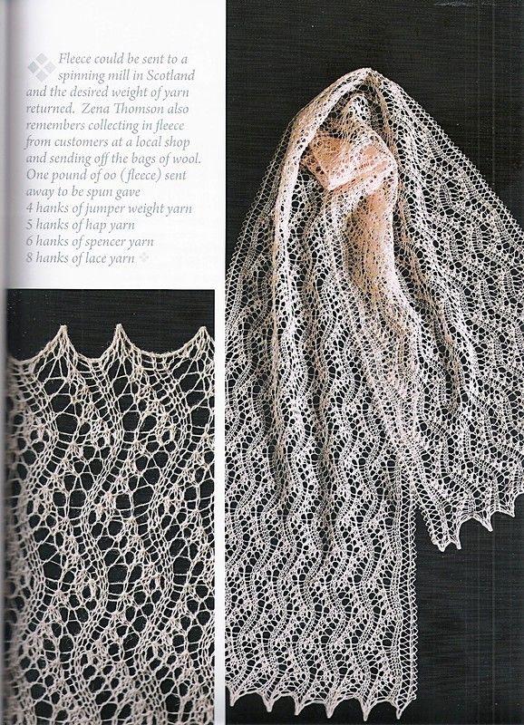 Legacy of Shetland Lace.