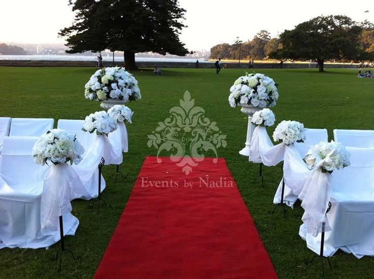 17 Best 1000 images about Wedding Ceremony Decorations on