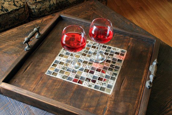 Best 25 Ottoman Tray Ideas On Pinterest Coffee Table