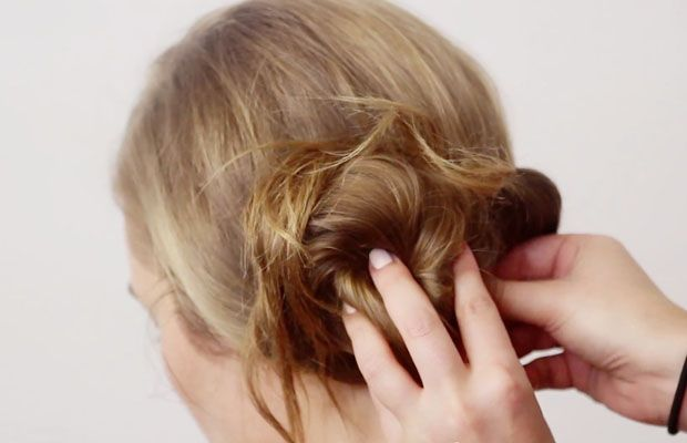 """Get the """"Poetry in Motion"""" Look With This Elegant Updo Tutorial   Verily"""