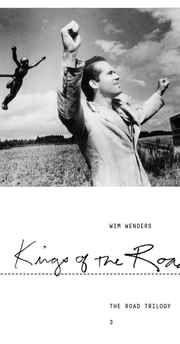 Directed by Wim Wenders.  With Rüdiger Vogler, Hanns Zischler, Lisa Kreuzer, Rudolf Schündler. A traveling projection-equipment mechanic works in Western Germany along the East-German border, visiting worn-out theatres. He meets with a depressed young man whose marriage has just broken up, and the two decide to travel together.
