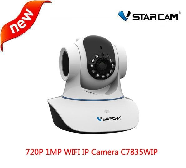 46.00$  Buy now - Vstarcam C7835WIP HD 1.0MP 720P WIFI IP Camera Indoor Dome Infrared Pan Tilt PnP CCTV Camera support IOS Android up to 128G card  #aliexpress