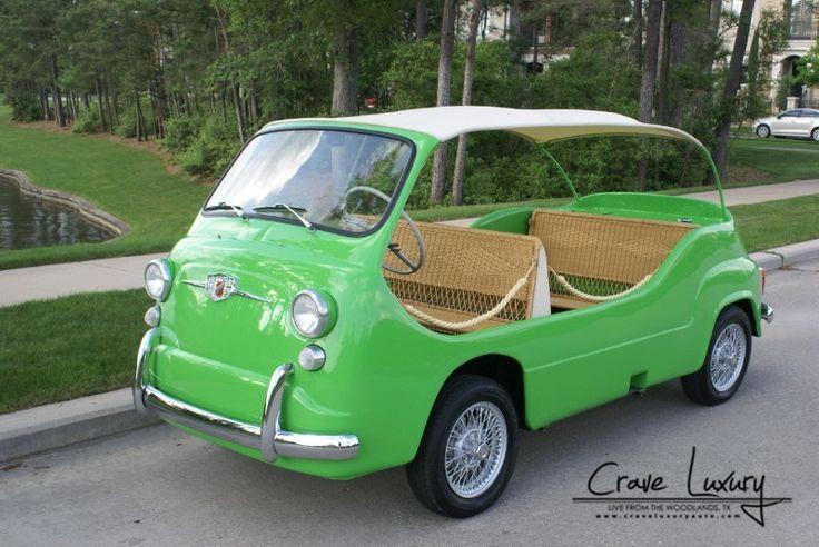 19'61 - Fiat Moretti 75 Multipla Mare