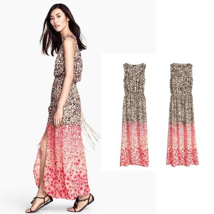 NEW Women's Sexy Summer Beach Dresses Long Maxi Evening Party Prom Club Dress #DL #Maxi #Casual