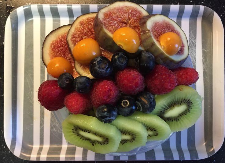 All-bran plus / chai / lijnzaad / hazelnoten / courgette / fruit breakfast