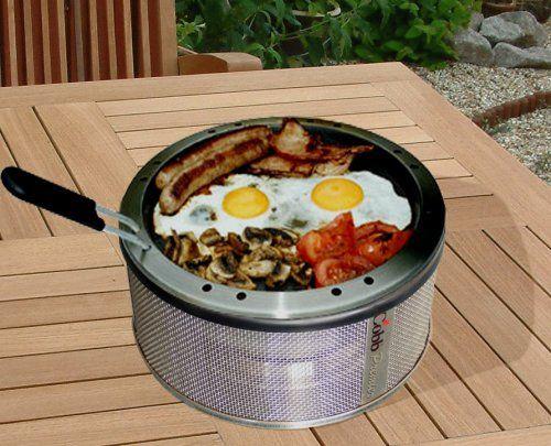 English breakfast on the Cobb