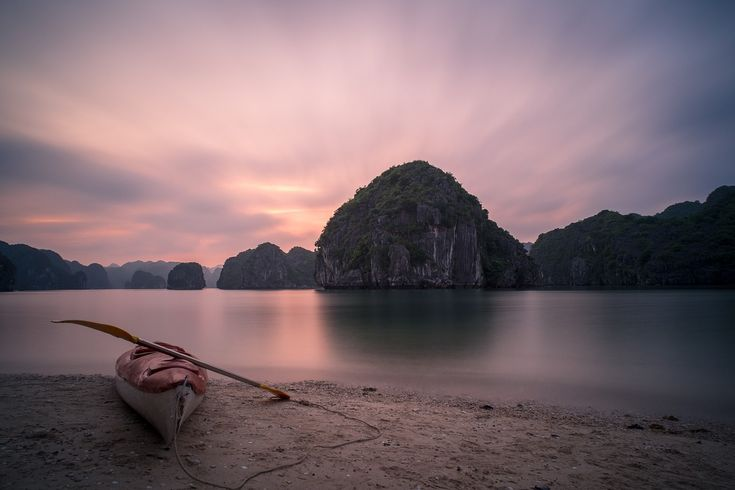 Ha Long Bay is one of the most naturally beautiful places in Vietnam. Don't miss it on a visit to this great country