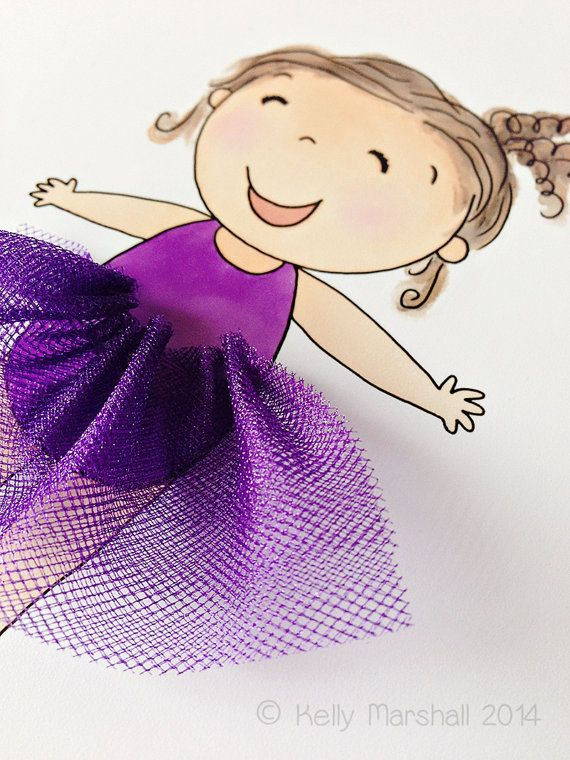 ♥ Happy Girl ♥ Children's 3D Art Print by Sweet Cheeks Images. $21.00 AUD