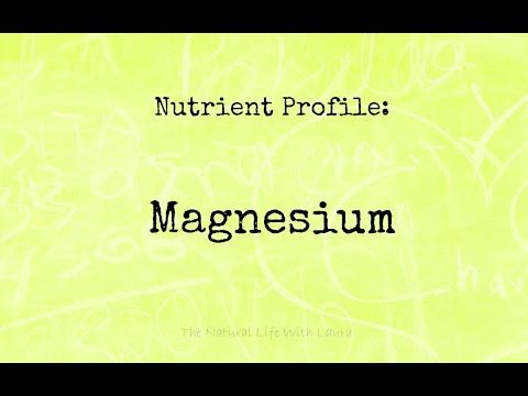 What's up with Magnesium? - YouTube